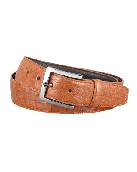 Crocodile Belt, Cognac