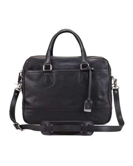 James Computer Bag, Black