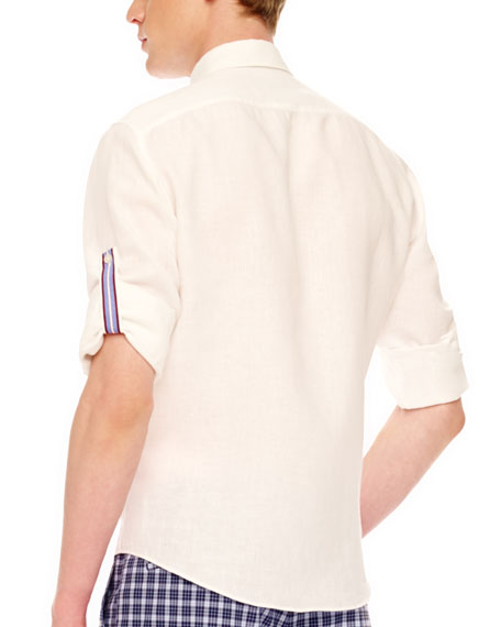 Tab-Sleeve Shirt