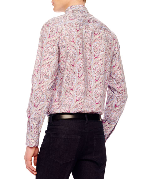 Paisley-Print Shirt