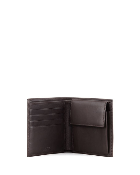 Tye Web-Trim Wallet, Brown
