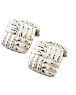 John Hardy Bedeg Square Cuff Links