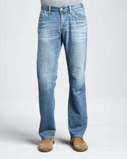 AG Adriano Goldschmied Protege Classic Straight 18-Year Wash Jeans