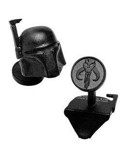 Star Wars Boba Fett Cuff Links