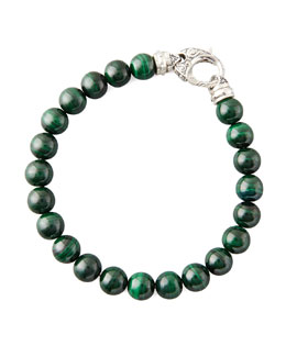 Stephen Webster Beaded Malachite Bracelet, 8mm