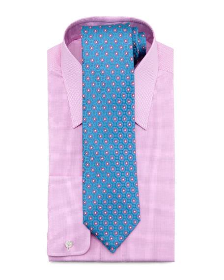 Check Dress Shirt, Pink/