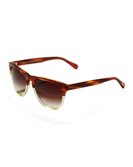 Oliver Peoples Daddy B Sunglasses, Tortoise