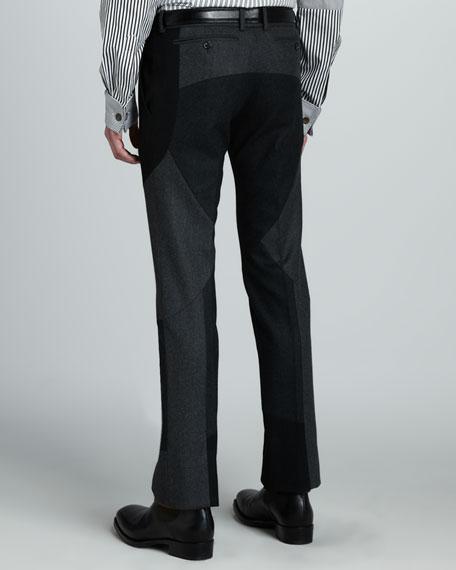 Patchwork Dress Pants
