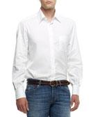 Brunello Cucinelli Button-Down Shirt, White