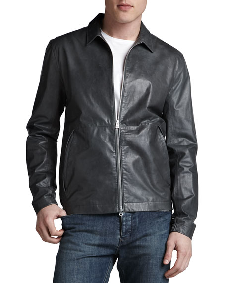 Theory Ion Leather Jacket