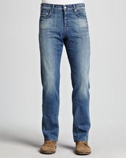 7 For All Mankind Standard Washed Out Jeans