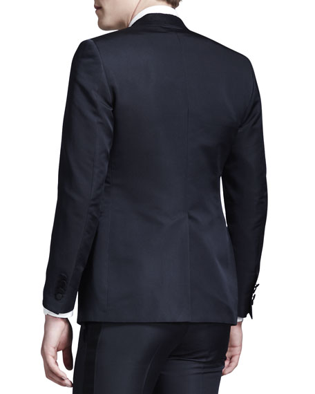Cut-Collar Smoking Jacket