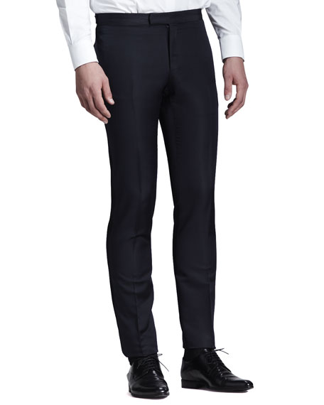 Side-Stripe Evening Trousers