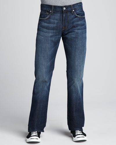 Brett Boot-Cut New York Dark Jeans