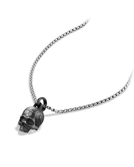 Waves Skull Amulet