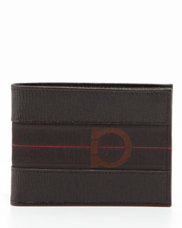 Salvatore Ferragamo Revival Sport Wallet, Brown