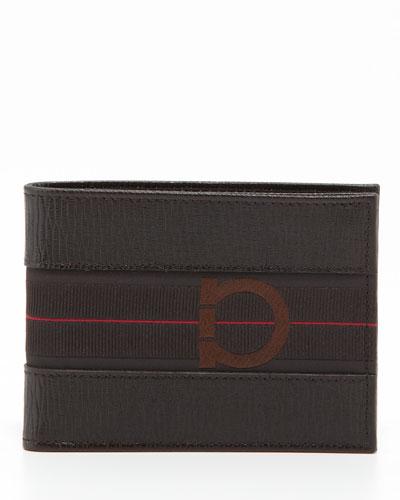 Salvatore Ferragamo Revival Sport Wallet, Brown