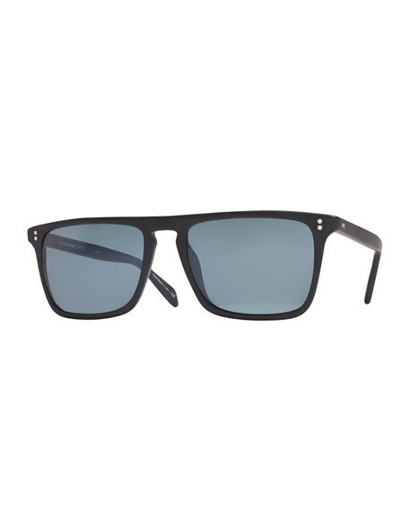 Oliver Peoples Bernardo Polarized Sunglasses, Indigo