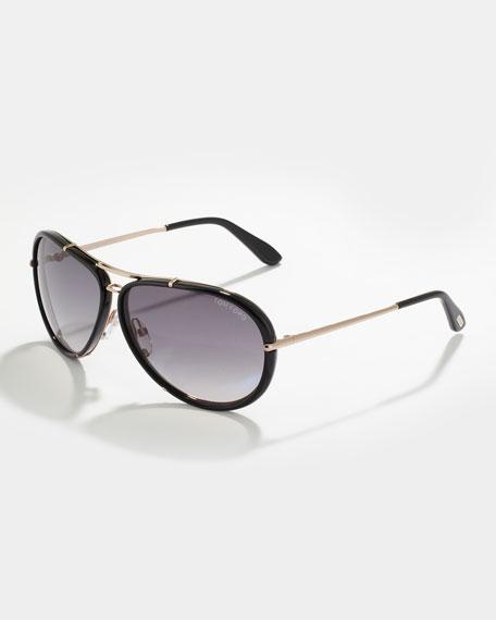 Tom Ford Cyrille Men S Aviator Sunglasses Black Gray