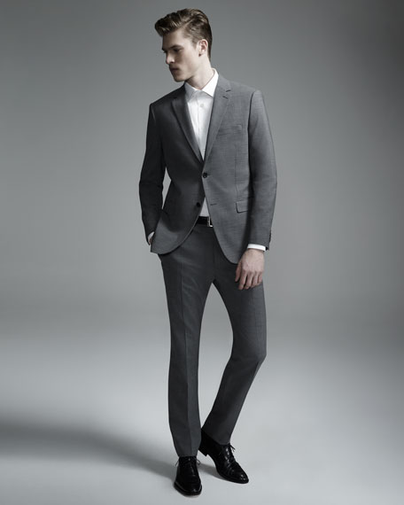 Wellar New Tailor Blazer, Charcoal.