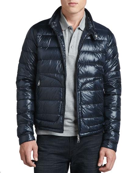 Acorus Lightweight Puffer Jacket, Blue