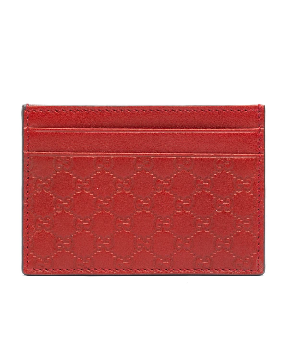 cd3c81ac03f2 Gucci Microguccissima Leather Money Clip, Red | Neiman Marcus