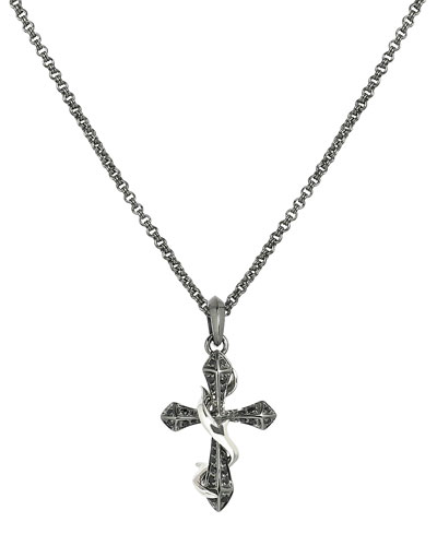 Thorn Cross Men's Necklace