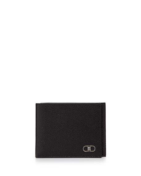 designer wallet with money clip cjai  Ten Forty One Slim Trifold Wallet, Black