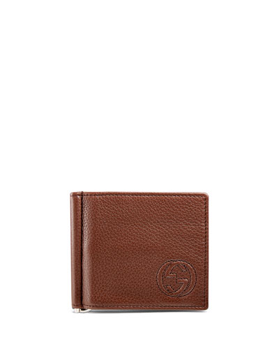 Soho Leather Money-Clip Wallet