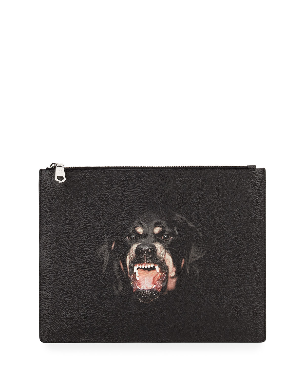 97d326b3c010 Givenchy Men s Antigona Rottweiler Pouch