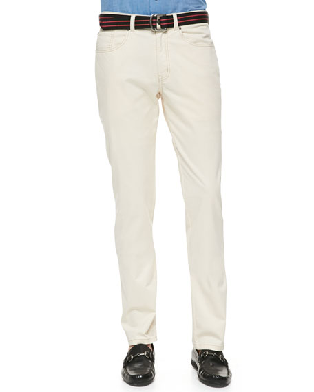 New 5-Pocket Pants, Stone