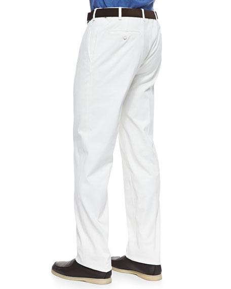 Diamond Straight-Leg Pants