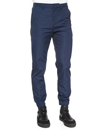 Kenzo Tech-Fabric Jogging Pants, Navy