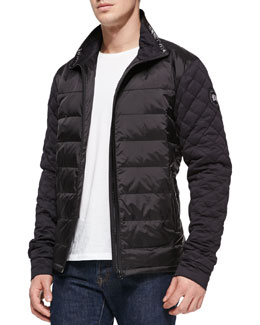 Canada Goose Branta Elliston Quilted Jacket, Black