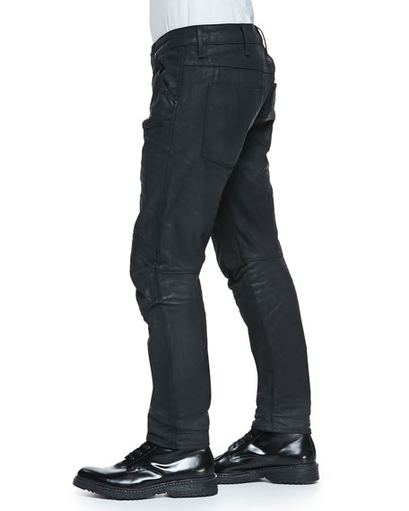 G-Star Black-Coated 5620 Tapered Jeans