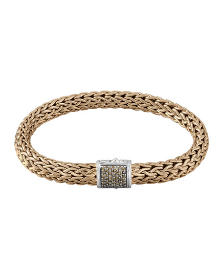 John Hardy Men's Classic Chain Diamond Pave Chain