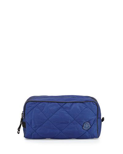 Quilted Nylon Travel Kit