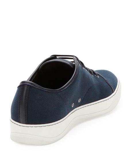Canvas Low-Top Sneaker, Navy
