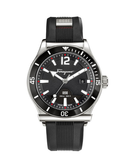 1898 Sport Watch, Black