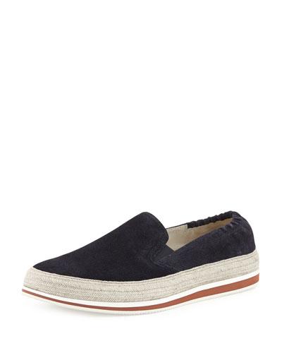 Espadrille Slip-On Sneaker, Blue