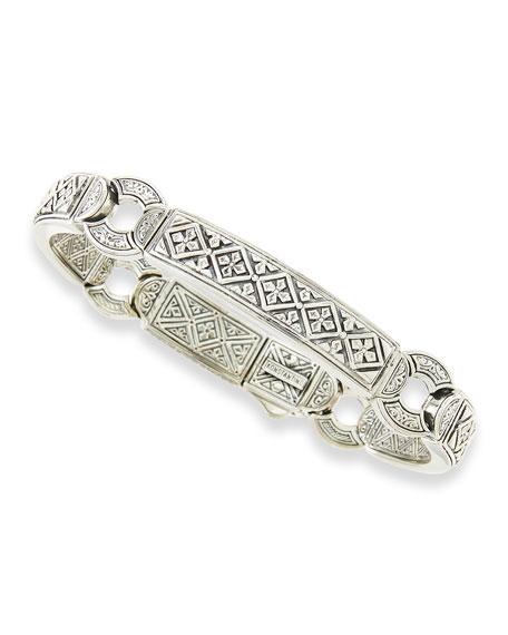 Konstantino Men's Sterling Silver ID Bracelet