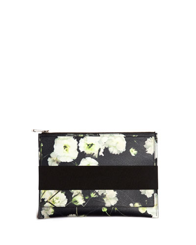 Baby's Breath Printed Zip Pouch