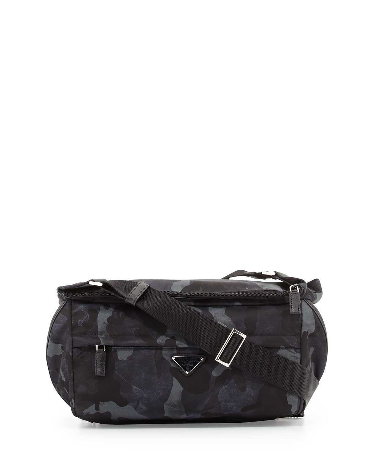 1b83f0c92eb6 Prada Camo Nylon Medium Messenger Bag | Neiman Marcus