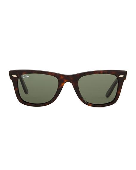 Ray-Ban Classic Wayfarer Sunglasses, Tortoise