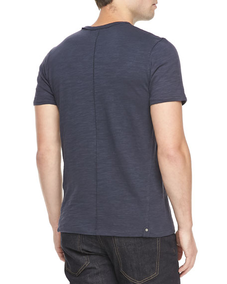 Standard Issue Basic Crew T-Shirt, Navy