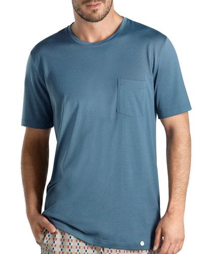 Amalfi Short Sleeve Tee, Blue