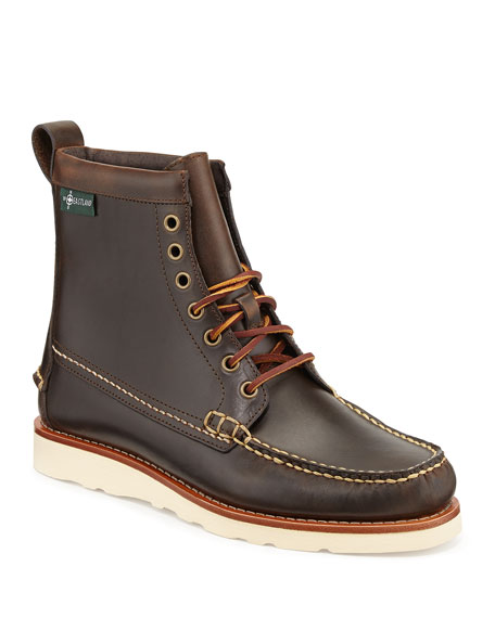 Sherman 1955 Leather Boot, Oak