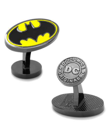 Cufflinks Inc. Batman Bat-Signal Enamel Cuff Links