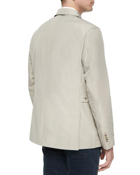 Peter Millar Hybrid Lightweight Sport Jacket, Khaki
