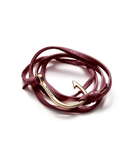 Hook Leather Bracelet
